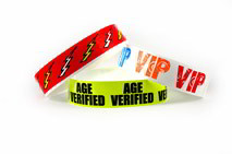 Stock Tyvek wristbands