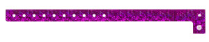 Holographic Pink Plastic Wristband
