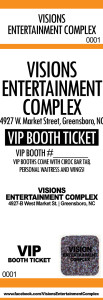 custom event ticket samples