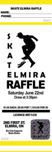 Yellow Raffle Tickets