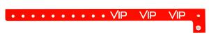 VIP Red Plastic Wristband