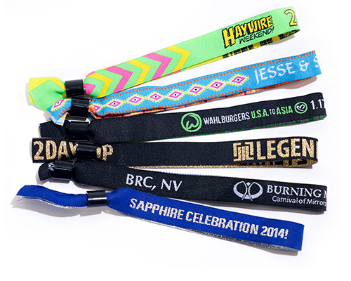 Cloth Wristbands Myzone Printing