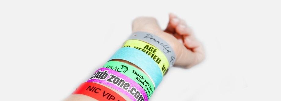 paper wristband printing