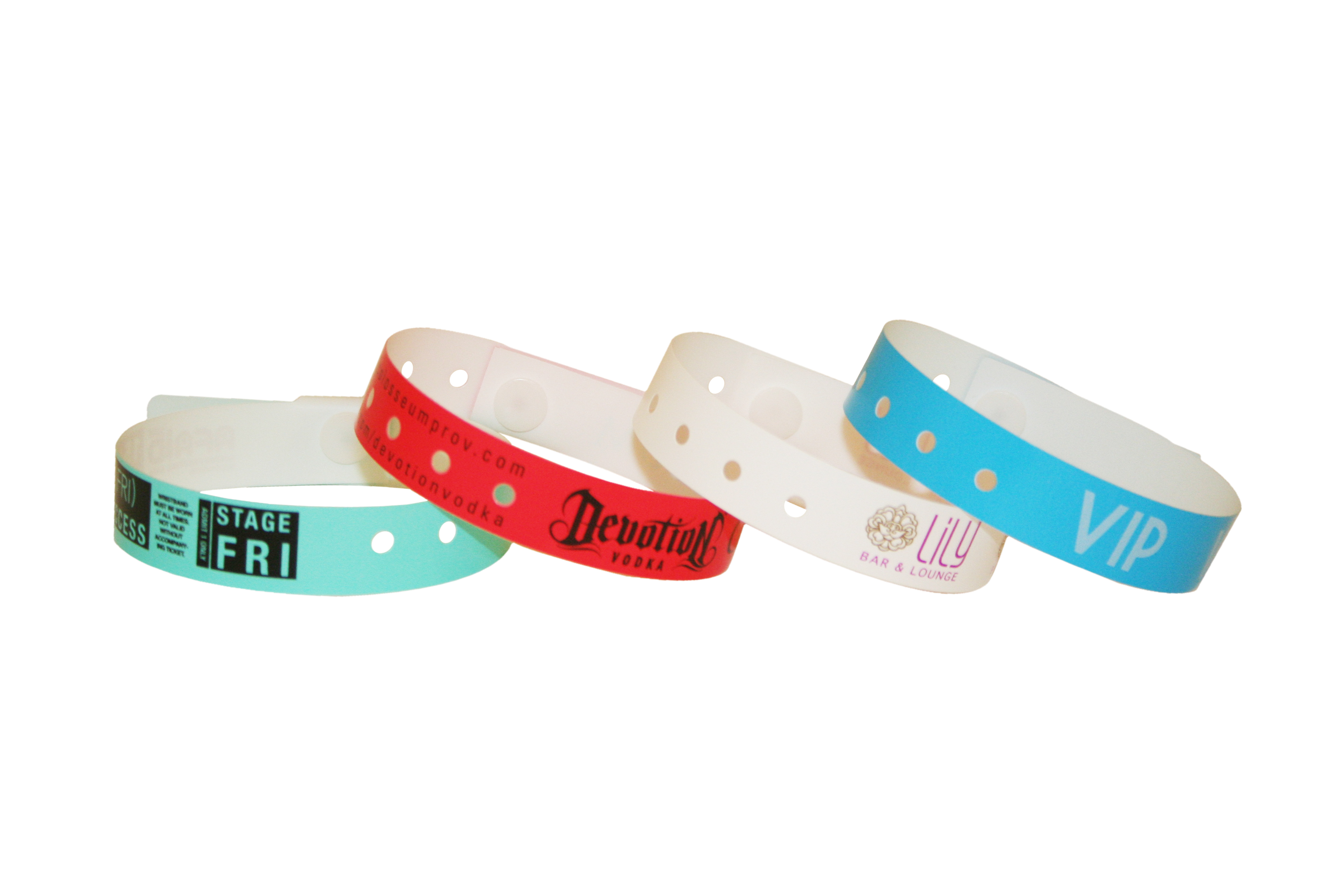 Plastic Waterproof Wristbands Are Great For Long Term Use