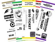 50/50 Tickets