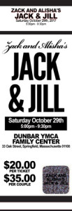 Black Jack and Jill Tickets
