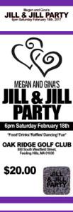 Purple Jack and Jill Tickets