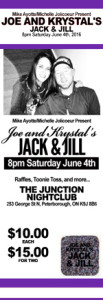 Purple Jack and Jill Tickets