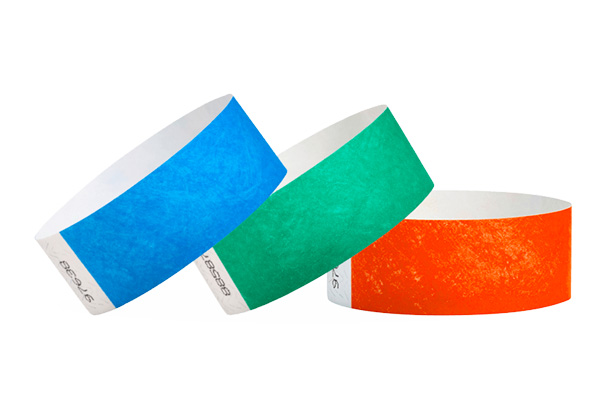 Plain Holographic Vinyl Wristbands x 1000