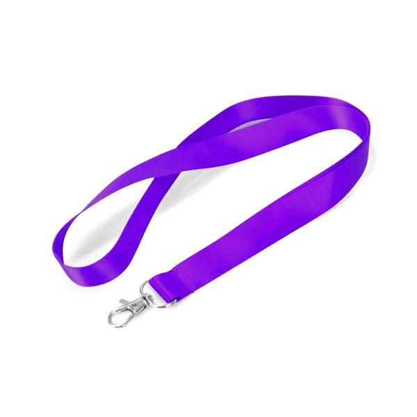 Purple lanyard